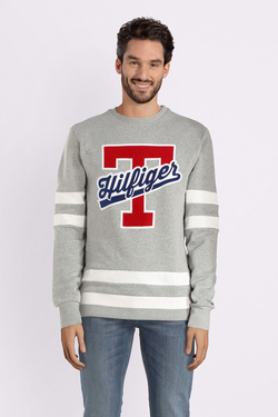 Sweat-shirt TOMMY HILFIGER MW0MW09073 Gris
