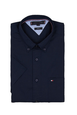 Chemise manches courtes TOMMY HILFIGER MW0MW010102 Bleu marine