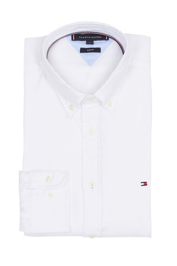 Chemise manches longues TOMMY HILFIGER MW0MW10936 Blanc