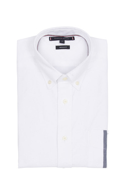 Chemise manches longues TOMMY HILFIGER MW0MW10962 Blanc