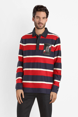 Polo TOMMY HILFIGER MW0MW10763 Rouge