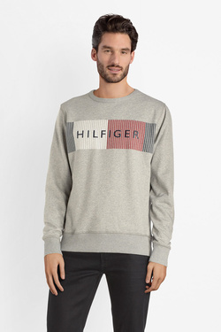 Sweat-shirt TOMMY HILFIGER MW0MW10753 Gris