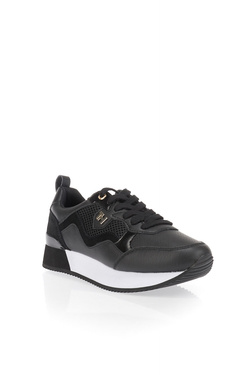 Chaussures TOMMY HILFIGER TOMMY DRESS CITY SNEAKER Noir