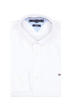 Chemise manches longues TOMMY HILFIGER MW0MW03745 Blanc