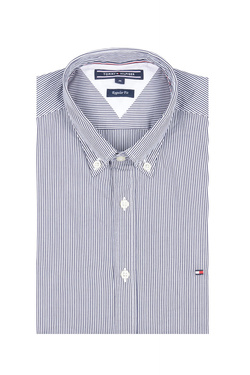 Chemise manches longues TOMMY HILFIGER MW0MW06776 Gris