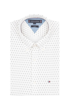 Chemise manches longues TOMMY HILFIGER MW0MW11915 Blanc