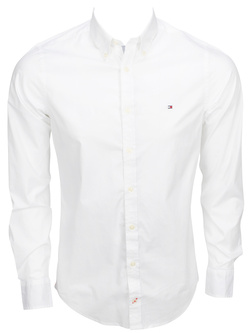 TOMMY HILFIGER Chemise manches longues blanc 72321 stretch