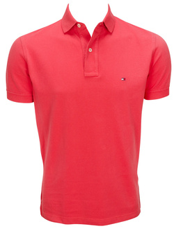 TOMMY HILFIGER Polo rouge 69135 tommy