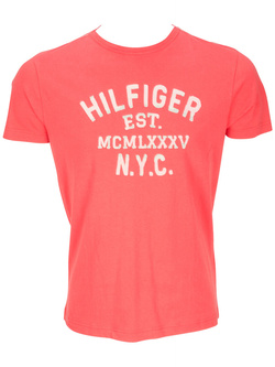 TOMMY HILFIGER Tee-shirt rouge 72838 HAYS
