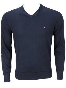 TOMMY HILFIGER Pull bleu marine 02697 PACIFIC