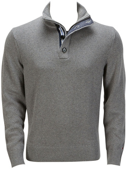 TOMMY HILFIGER Pull gris 857883721
