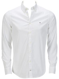 TOMMY HILFIGER Chemise manches longues blanc 857883806