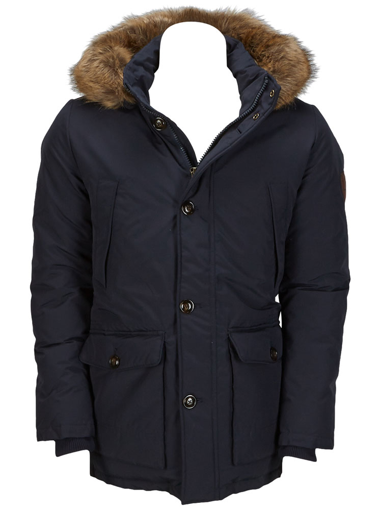 tommy hilfiger parka 887883460 bleu marine homme des marques et vous. Black Bedroom Furniture Sets. Home Design Ideas