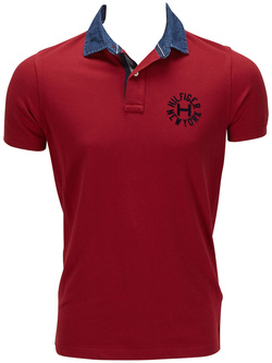 TOMMY HILFIGER Polo rouge 887883622