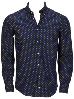 TOMMY HILFIGER Chemise manches longues bleu marine 887883901