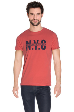 TOMMY HILFIGER Tee-shirt rouge 887894194