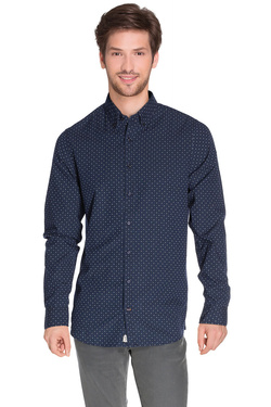 TOMMY HILFIGER - Chemise manches longues08878A0746Bleu marine
