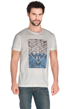 TOMMY HILFIGER - Tee-shirt08878A1328Ivoire