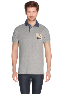 TOMMY HILFIGER - Polo08878A1606Gris