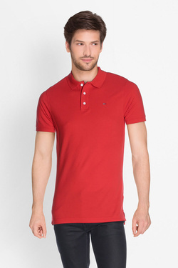 Polo TOMMY JEANS DM0DM00488 Rouge