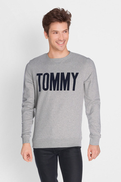 Sweat-shirt TOMMY JEANS DM0DM02758 Gris clair