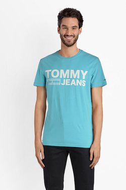 Tee-shirt TOMMY JEANS DM0DM02192 Bleu turquoise