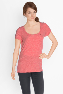 Tee-shirt TOMMY JEANS 64346 Rouge