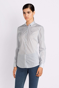 Chemise manches longues TOMMY JEANS 04310 Blanc