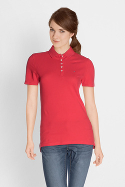 Polo TOMMY JEANS 04300 Rouge