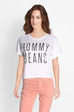 Tee-shirt TOMMY JEANS 04068 Blanc