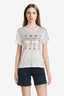 Tee-shirt TOMMY JEANS 04074 Blanc