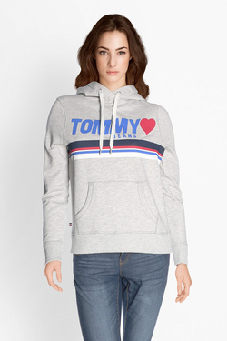 Sweat-shirt TOMMY JEANS 04080 Gris clair