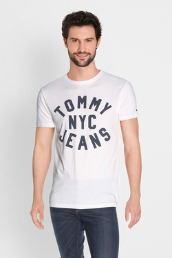 Tee-shirt TOMMY JEANS 04148 Blanc