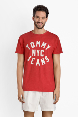 Tee-shirt TOMMY JEANS 04148 Rouge