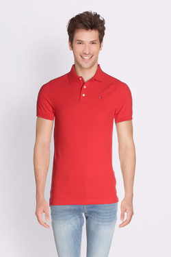 Polo TOMMY JEANS 00488 Rouge