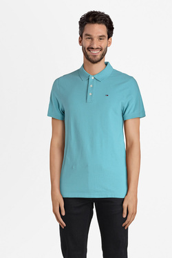 Polo TOMMY JEANS 00488 Bleu turquoise