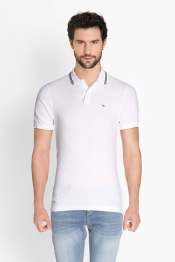 Polo TOMMY JEANS 04109 Blanc