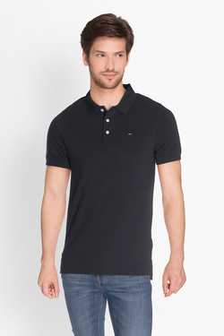 Polo TOMMY JEANS DM0DM04266 Noir