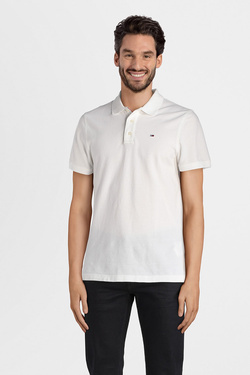 Polo TOMMY JEANS DM0DM04266 Blanc