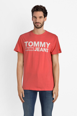 Tee-shirt TOMMY JEANS 04528 Rose
