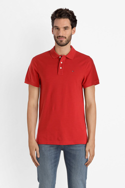 Polo TOMMY JEANS DM0DM05232 Rouge vermillon