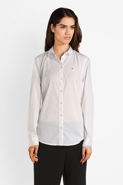 Chemise manches longues TOMMY JEANS 04432 Blanc