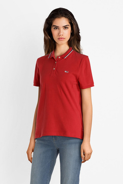 Polo TOMMY JEANS 04512 Rouge