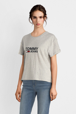 Tee-shirt TOMMY JEANS 04928 Gris clair