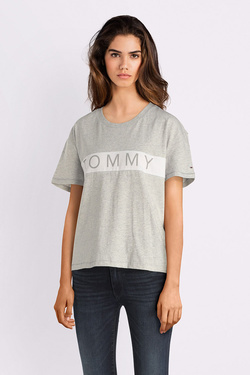 Tee-shirt TOMMY JEANS 04950 Gris clair