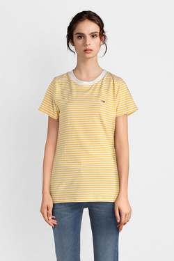Tee-shirt TOMMY JEANS 04794 Jaune