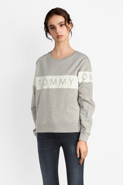 Sweat-shirt TOMMY JEANS 04523 Gris clair
