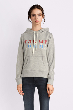 Sweat-shirt TOMMY JEANS 05378 Gris clair