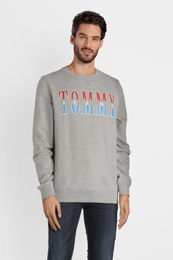 Sweat-shirt TOMMY JEANS 04461 Gris clair