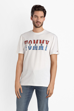 Tee-shirt TOMMY JEANS 04522 Blanc